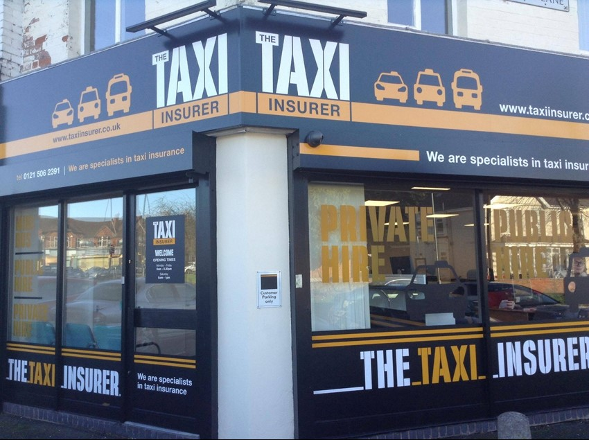 The front of the Taxi Insurer store
