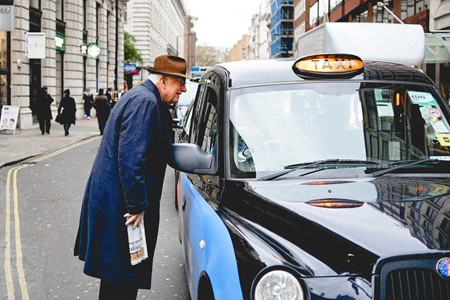 What are the rights of a passenger in a taxi?