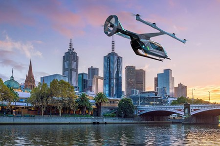 Is there actually a flying taxi? What do we know about it?